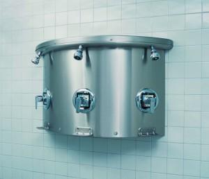 Bradley Stainless Steel Shower