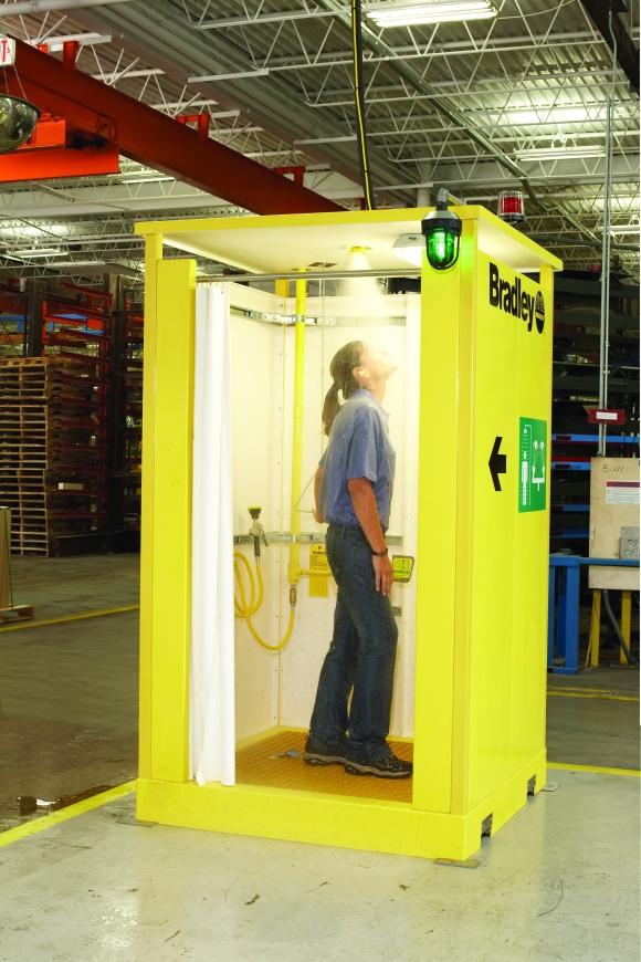 Enclosed Safety Shower